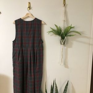 Dresses - Adorable Plaid School Girl Dress